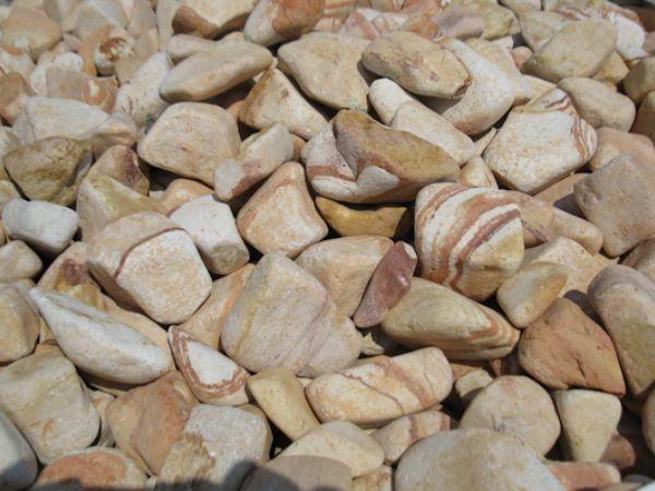 rainbow pebbles decorative stones